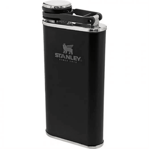 Stanley 8oz Classic Wide Mouth Flask (Matte Black)