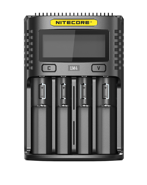 Nitecore UM4 Intelligent USB Four-Slot Battery Charger - Thomas Tools