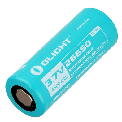 Olight Battery 26650 4500mAh Battery for R50/R50 Pro