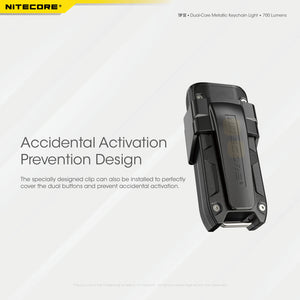 Nitecore TIP SE Keychain Rechargeable Flashlight (700 Lumens) (2 Versions)