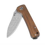 QSP Hawk EDC Folding Knife (Verawood Handle)