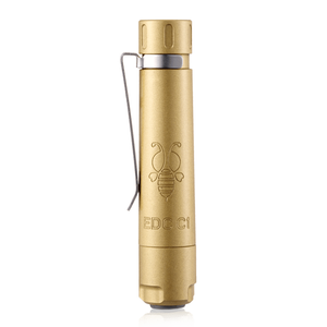 Folomov EDC C1 Brass LED Flashlight (335 Lumens)