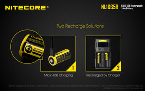 Nitecore Battery NL1665R