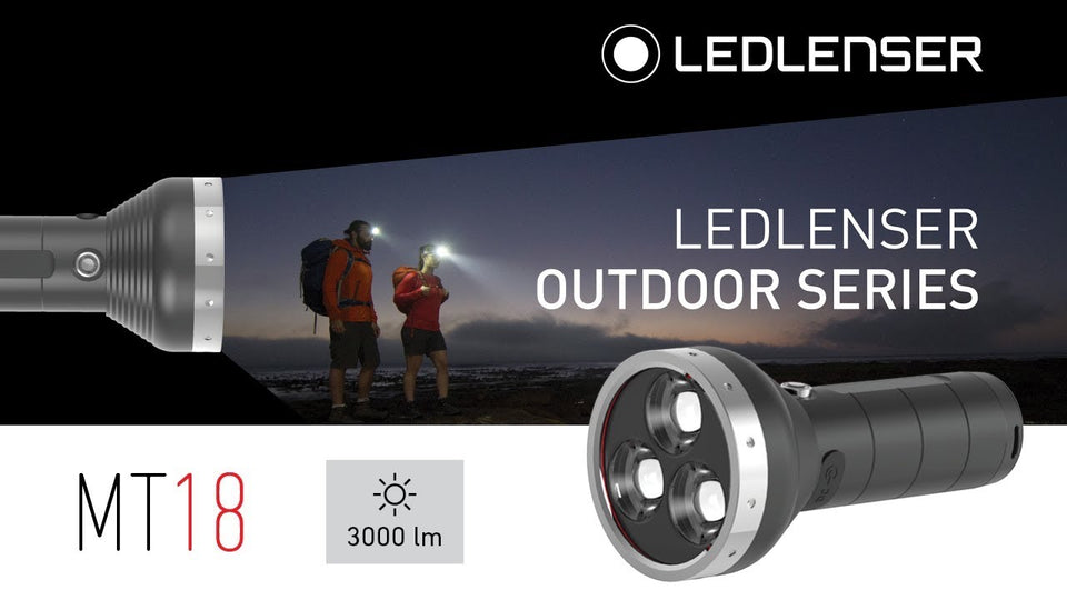 LED Lenser MT18 (3000 Lumens) - Thomas Tools