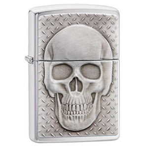 Zippo Skull 29818 Skull with Brain Surprise Lighter