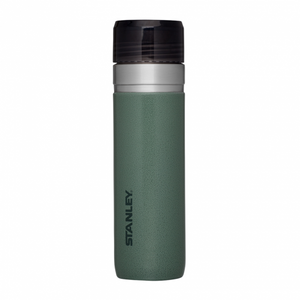 Stanley Go Series Vacuum Bottle With Flow Direct 24oz (Hammertone Green)