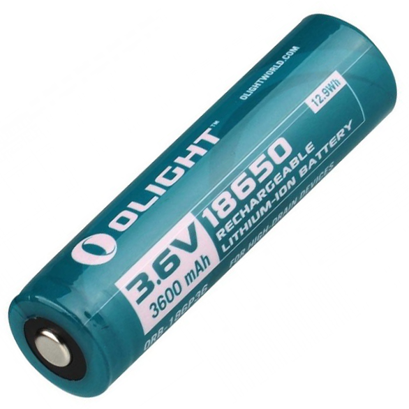 Olight Battery 18650 Lithium-Ion 3600mAh Battery