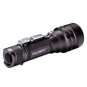 Folomov 18650L Tactical Flashlight (1600 Lumens) - Thomas Tools