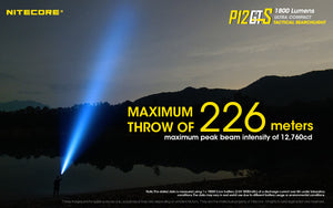 Nitecore P12GTS LED Flashlight (1800 Lumens)