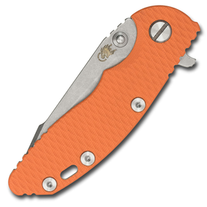 "Hinderer XM-18 3.0"" Harpoon Tanto (Orange G10) - Thomas Tools"
