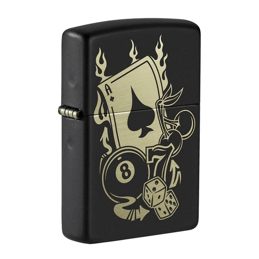 Zippo Ace 49257 Gambling Design Lighter