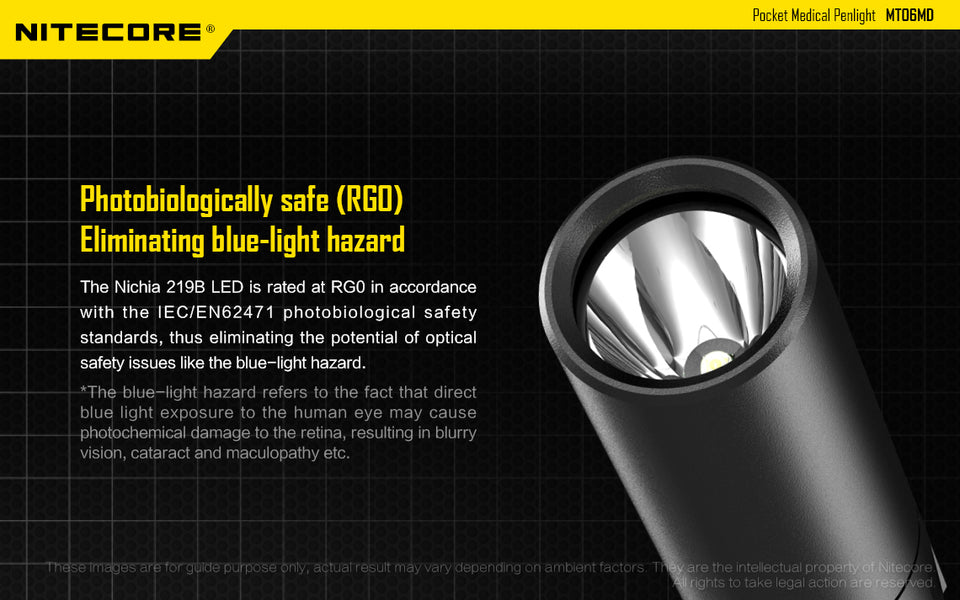 Nitecore MT06MD LED Penlight (180 Lumens)