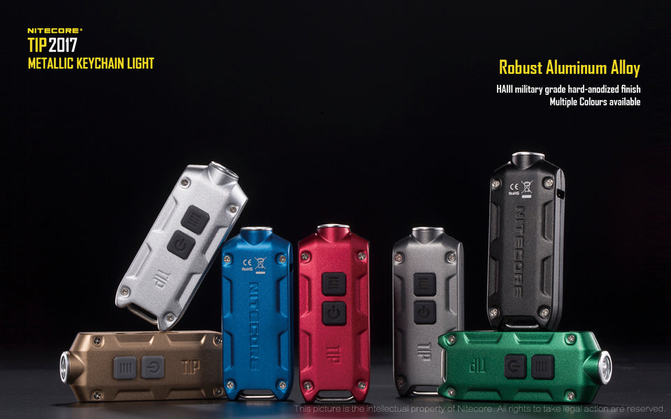 Nitecore TIP 2017 (360 Lumens) (7 Versions)