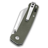 QSP Penguin EDC Folding Knife (OD Green Handle)