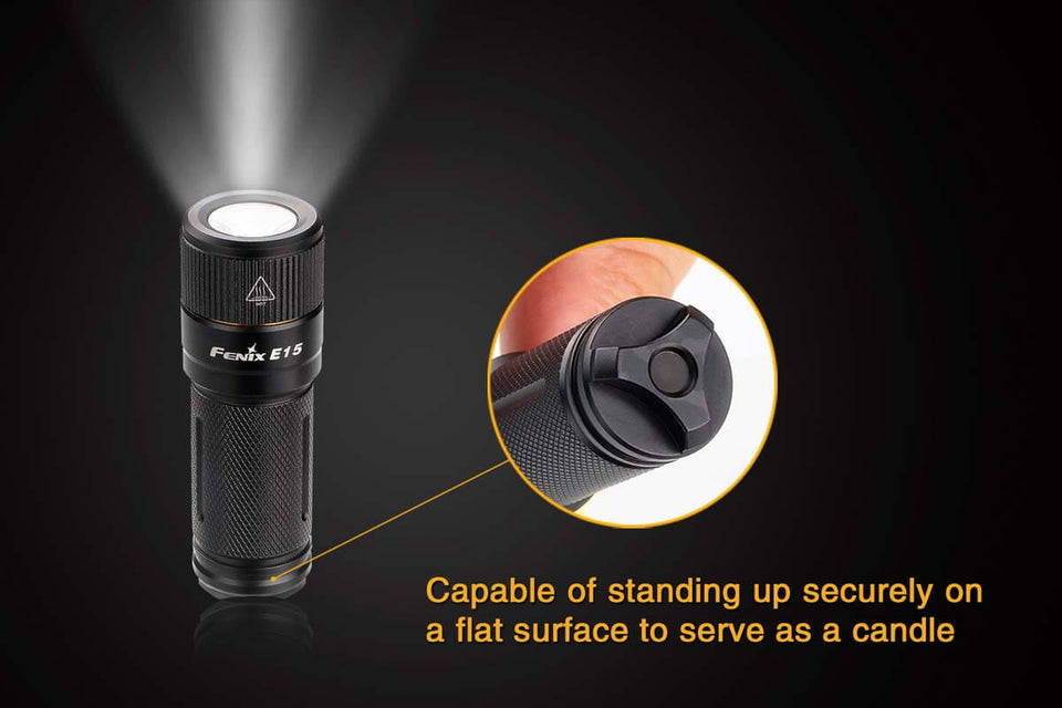 Fenix E15 - 2016 Upgrade Flashlight  (450 Lumens) - Thomas Tools