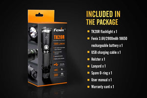 Fenix TK20R USB Rechargeable Flashlight (1000 Lumens) - Thomas Tools