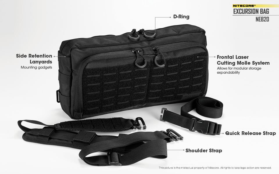 Nitecore Tactical Excursion Bag NEB20 (2 Versions)