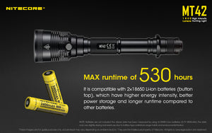 Nitecore MT42 LED Flashlight (1800 Lumens) - Thomas Tools