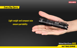 Nitecore MH10 Rechargeable LED Flashlight (1000 Lumens)