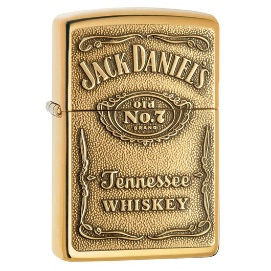 Zippo Brass 254BJD.428 Tennessee Whiskey Lighter - Thomas Tools