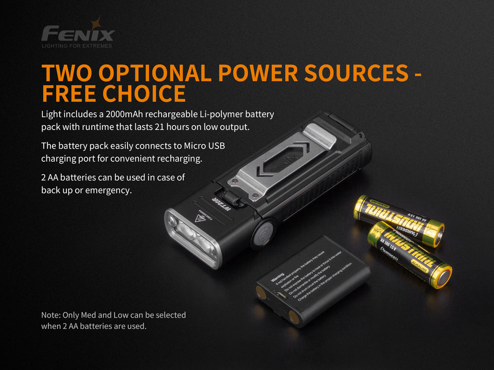 Fenix WT20R Flashlight  (400 Lumens) - Thomas Tools