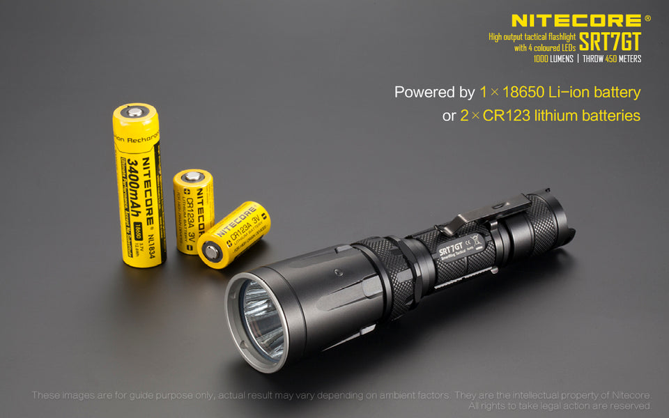 Nitecore SRT7GT LED Flashlight (1000 Lumens) - Thomas Tools
