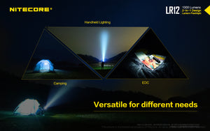 Nitecore LR12 2in1 Lantern Flashlight (1000 Lumens) - Thomas Tools