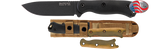 Ka-Bar Becker BK16 Short Drop Point - Thomas Tools