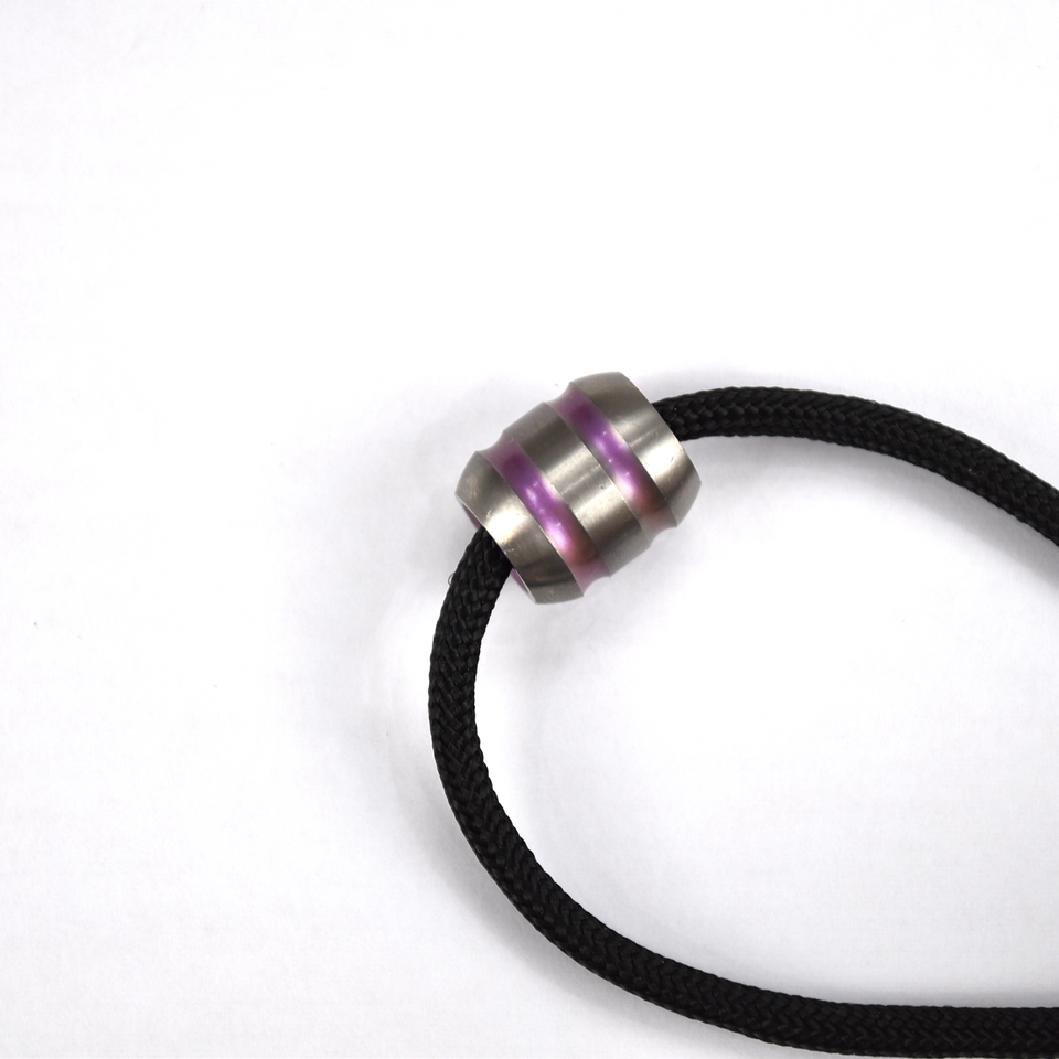 TC4 Titanium Lanyard Bead (Barrel) – Thomas Tools