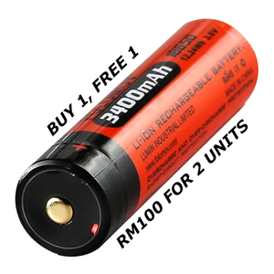 Folomov Battery USB-1834 (Buy 1 Free 1)