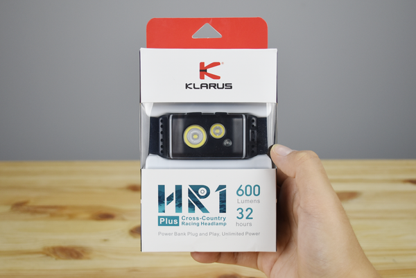 Klarus HR1 Plus Rechargeable Headlamp (600 Lumens)