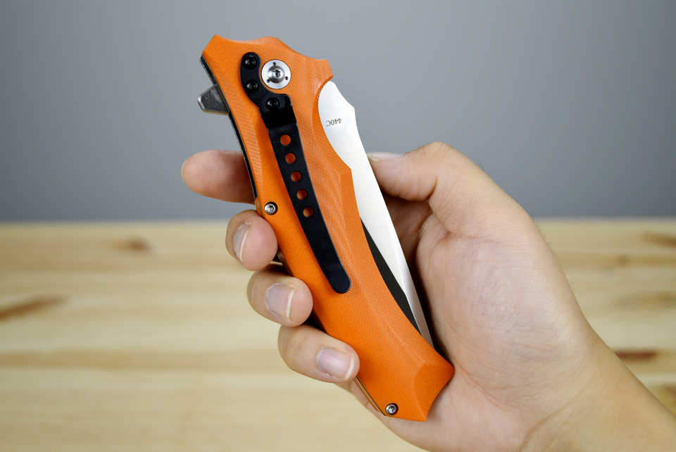 QSP Sthenia Satin (Orange Handle) - Thomas Tools