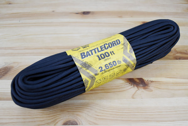 Atwood 2650lbs Battle Cord 7 cores 100ft (Black)