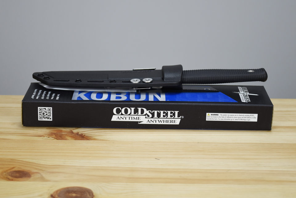 Cold Steel Kobun Fixed Blade (Serrated)