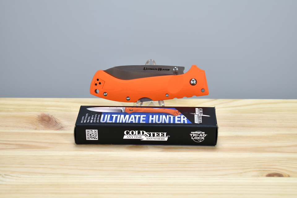 Cold Steel Ultimate Hunter Orange (S35VN) - Thomas Tools