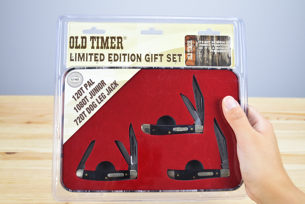 Schrade Old Timer 3-Piece Set (Limited Edition)