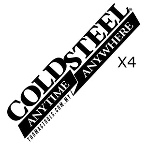 Cold Steel Logo Decal (4 units)