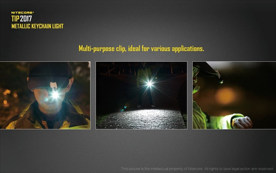Nitecore TIP 2017 (360 Lumens) (7 Versions) - Thomas Tools