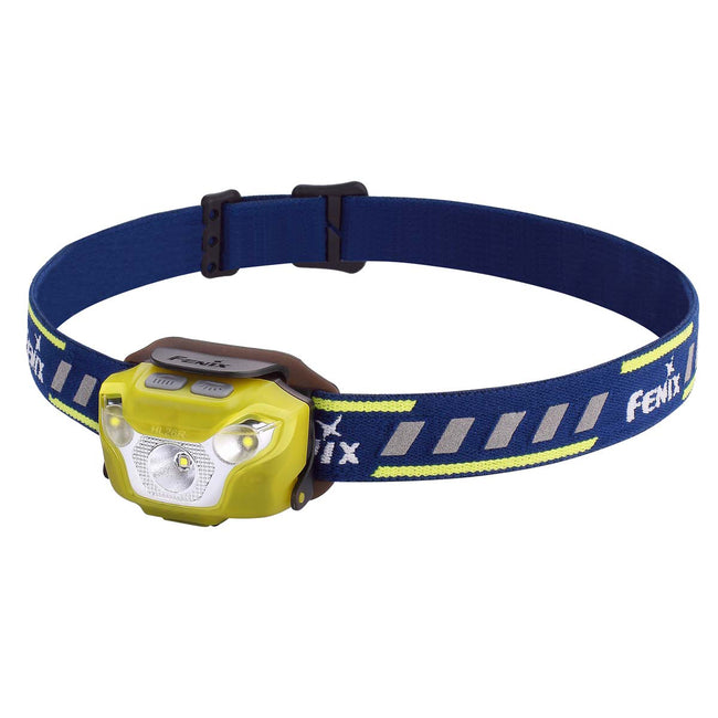 Fenix HL26R USB Rechargeable Trail Running Headlamp (Yellow) (450 Lumens)