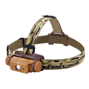 Fenix HL60R XM-L2 U2 USB Rechargeable Neutral White LED Headlamp (Yellow) (950 Lumens)