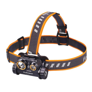 Fenix HM65R XM-L2 U2 & XP R5 Rechargeable LED Headlamp (Black) (1400 Lumens)
