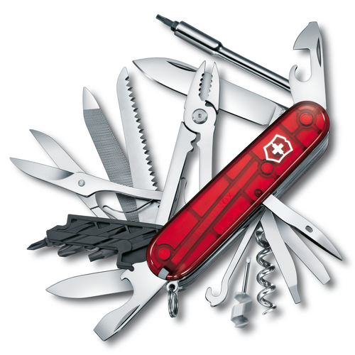 Victorinox CyberTool L Multitool (Red Trasparent)