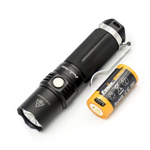 Fenix PD25 XP-L LED Flashlight (Black) (550 Lumens)
