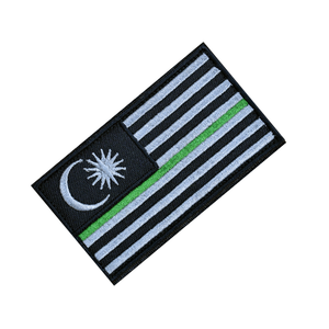 """Thin Green Line"" Tactical Patch - Thomas Tools"