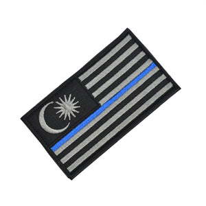 """Thin Blue Line"" Tactical Patch"