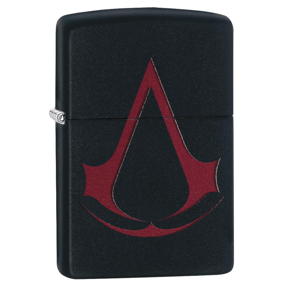 Zippo Matte 29601 Assassin S Creed Scarlet Crest Lighter Thomas