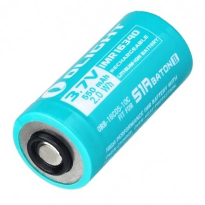 Olight Battery Customised RCR123 550mAh (S1R II)