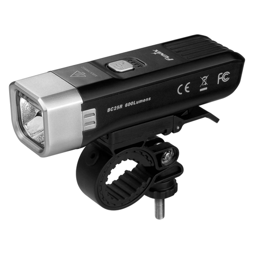 Fenix BC25R USB Rechargeable Bike Light (600 Lumens) - Thomas Tools