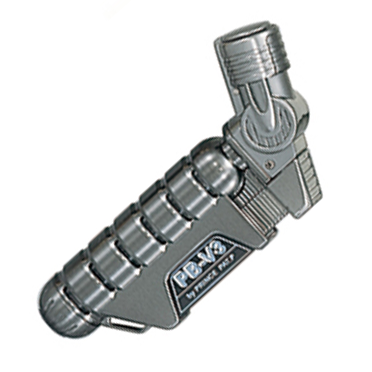 Prince PB-V3 Jet Flame Lighter (Black Nickel)