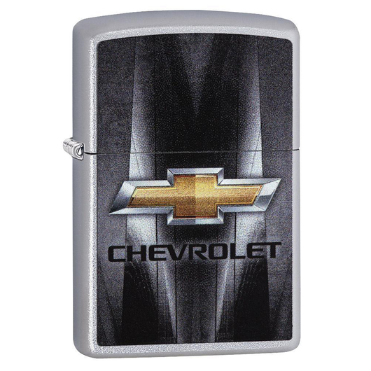 Zippo 29569 Chevy Metal Logo Lighter - Thomas Tools